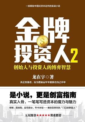 《金牌投资人2:创始人与投资人的博弈智慧 》龙在宇-PDF